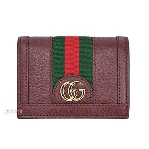 Gucci Ophidia Leather Bifold Wallet